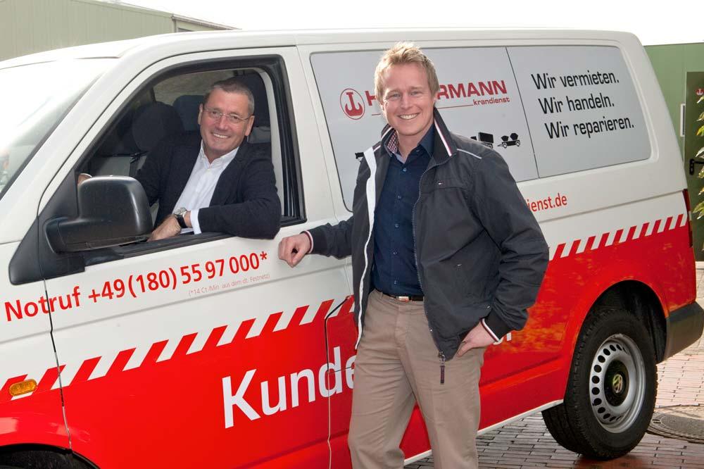 Rolf Hüffermann und Daniel Janssen
