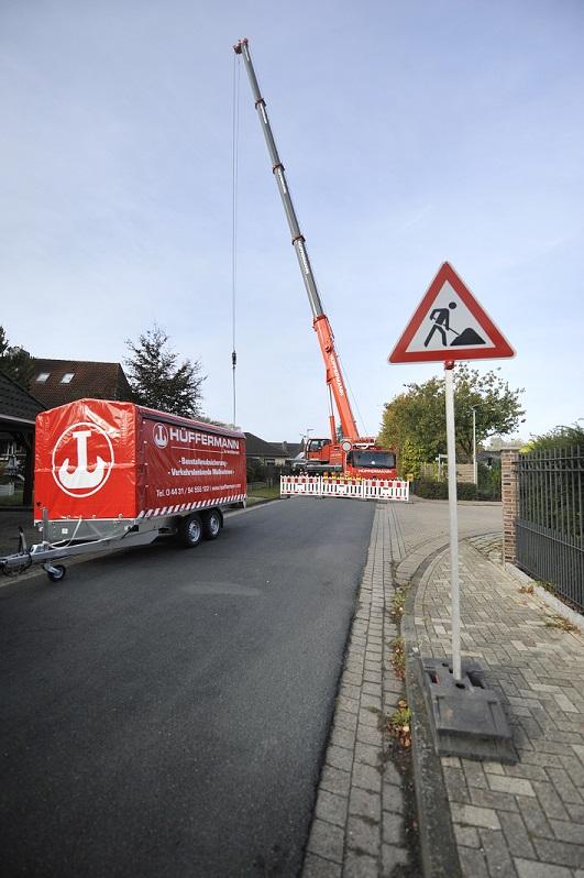 Absperrtechnik, Baustellensicherung, Verkehrstechnik, Sicherung, Hüffermann