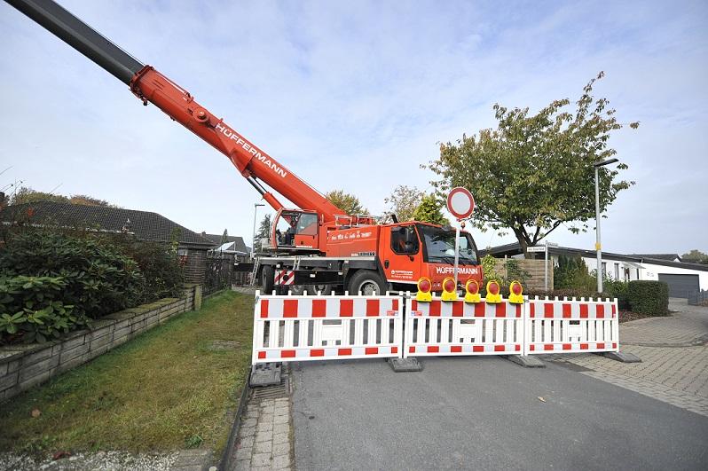 Verkehrssicherung, Verkehrstechnik, Absperrtechnik, Hüffermann