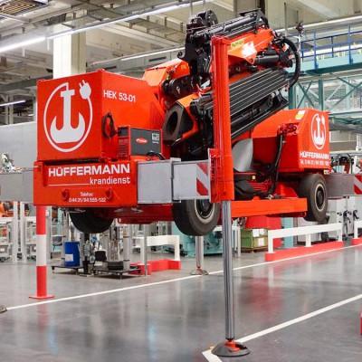 Elektrokran von Hüffermann