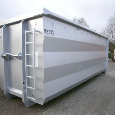 Hüffermann Abrollcontainer silber