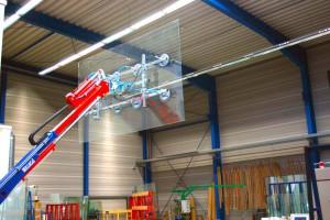 Hüffermann KS-Robot 1.000 kg Glasmontagegerät mieten