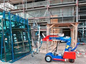 Hüffermann KS-Robot 550 kg - Glaslifter für Glasmontagen