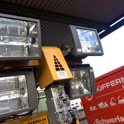 Hüffermann Flutlichtanlage