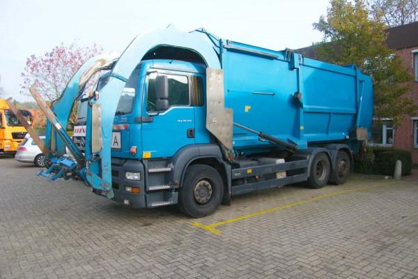 Müllsammelfahrzeug