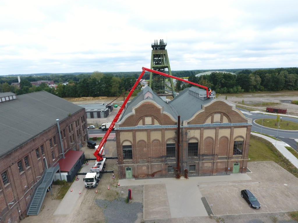Lkw-Arbeitsbühnen, Arbeitshöhen bis zu 90 m, Ruthmann Steiger