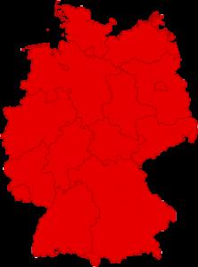 Hüffermann Standorte für Mietgeräte Deutschland