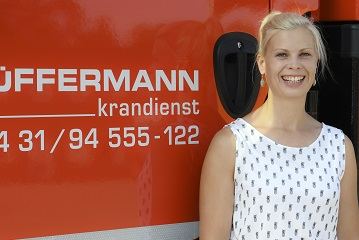 Kranhandel, Export, Hüffermann Krandienst, Christina Arndt
