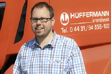 Gebrauchthandel, Vermietung, Nutzfahrzeuge, Hüffermann Krandienst, Schäfer