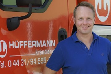 Hüffermann Krandienst, Schwertransporte, Rolfes,
