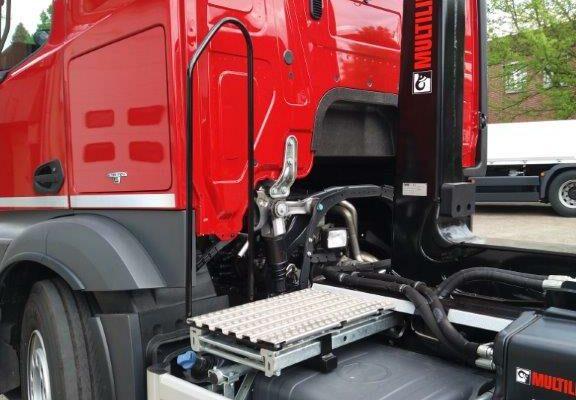 Hüffermann, Geräteaufbauten, Wechselgeräte, Nutzfahrzeuge