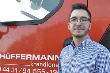 Arbeitsbühnenvermietung, Kran- und Container mieten - Heinrich Wolf Hüffermann