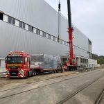 Maschineneinbringungen-Hüffermann-Schwertransporte-Industriemontage