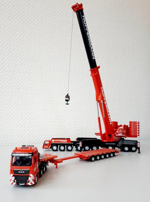 Kranmodelle und LKW Modelle Hüffermann 1:87 - WSI