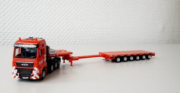 Semitieflader Modell 6-Achs LKW Modell von WSI 1:87