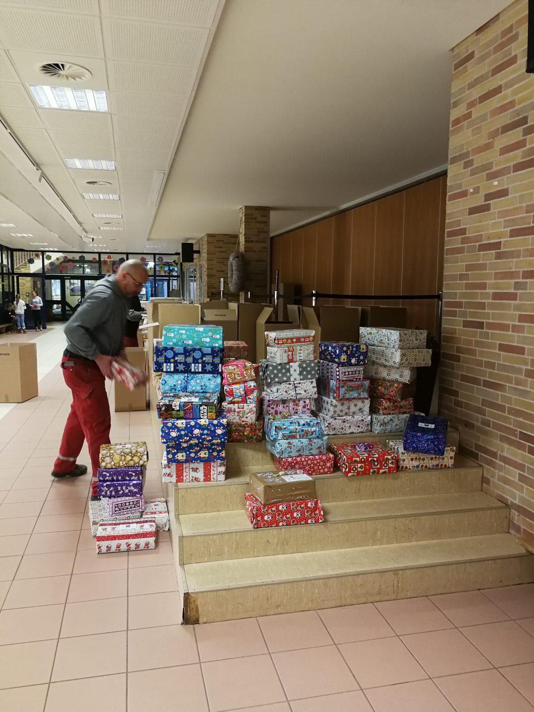 Hüffermann, Charity, RoundTable, Weihnachtspäckchenkonvoi 2018