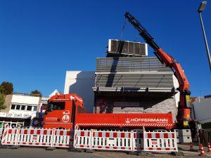 Baustellensicherung, Streckenkontrolle Hüffermann - Schilder, Signale, Absperrmaterial