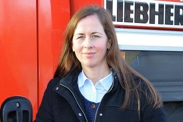 Aline Melcher - Ansprechpartner Gebrauchthandel u Export Hüffermann
