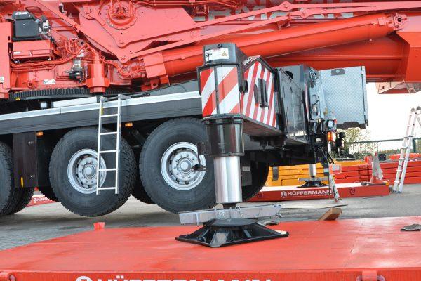 Crane Accessories, Crane support Plates, Support Plates, crane logistics Hüffermann