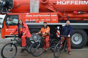 Hüffermann Team, Event, Tombola, Mitarbeiter