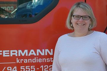 Carola Wilke - Ansprechpartner Hüffermann Krandienst