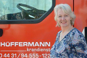 Marion Albers Ansprechpartnerin Hüffermann Kranlogistik