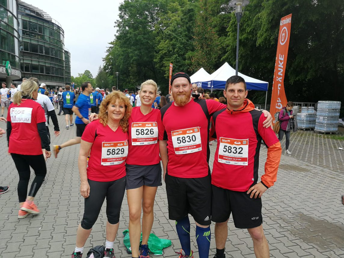 Team - Event Hüffermann - Teilnahme am B2Run 2019