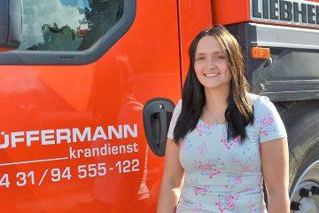 Svenja Heckmann - Ansprechpartner Verwaltung Hüffermann