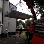 Balkonetzen mit Ladekran von Hüffermann