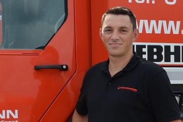 Leitung Service&Montage Hüffermann Krandienst - Christian Bollien