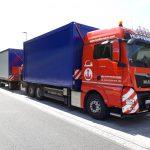 Containertransporte mit Überbreite - Transportlogistik von Hüffermann