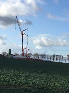 Windkraftanlagen-Montagearbeiten-Hueffermann