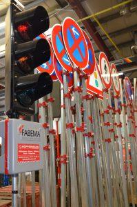 Mobile Ampelanlagen - SIgnaltechnik - Hüffermann Verkehrssicherung