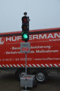 Signaltechnik - Signalanlage - mobile Ampelsysteme Hüffermann