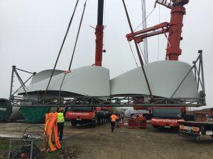Hüffermann Montage Windkraftanlage in Mecklenburg-Vorpommern
