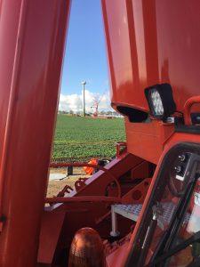 Kranarbeiten - Windpark - Hüffermann LTM 1500 u LTM 1100