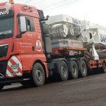 Schwerlasttransporte - LKW Fahrer - Schwerlastlogistik - Hüffermann