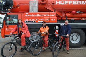 Mitarbeiter Hüffermann - Team - Events - Kranfahrer