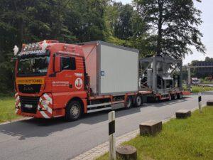 Transporte - Maschinentransport - Hüffermann Schwerlastlogistik