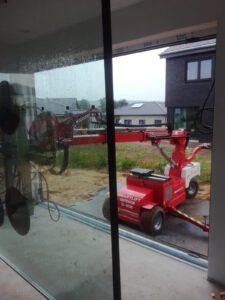 Glasmontage - Verglasungsroboter - Außenverglasung - Hüffermann