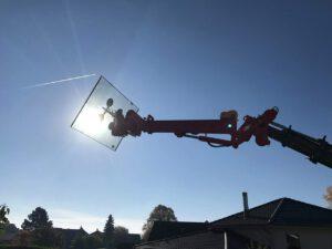 3d-Glasmanipulator von Skilifter - Glasmontagegerät mieten von Hüffermann - Glasmontage