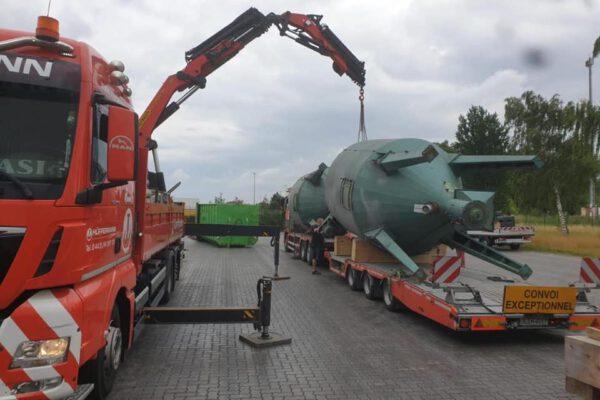 Kranarbeiten - Transport - Kranlogistik - Hüffermann