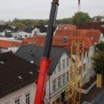 Kranarbeiten - Montage Turmdrehkran - Hüffermann Verkehrssicherung Oldenburg