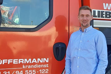 Ansprechpartner - technischer Außendienst - Hüffermann Krandienst