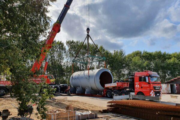 Kranarbeiten - Spedition - Schwerlasttransporte - Hüffermann
