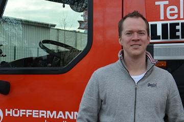 Ansprechpartner Arbeitsvorbereitung Service & Montage Hüffermann Helge Lückens