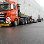 3-Achs Tiefbett - Nutzlast 40 - Hüffermann Spedition + Transportbegleitung