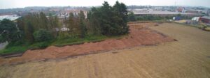 Ausbau Lagerfläche - Betriebsgelände Hüffermann Krandienst um 17000 qm
