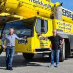 Übernahme der EISELE AG durch Hüffermann Kran- & Schwerlastlogistik