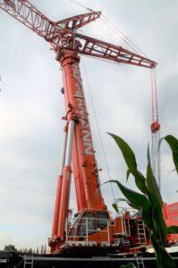 LTM 1650-Autokran 700 Tonnen - Autokran mieten - Windkraft - Hüffermann